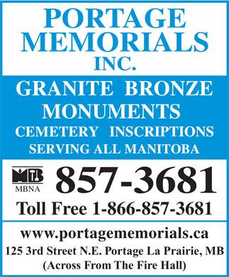 Portage La Prairie. Granite in Portage-La-Prairie