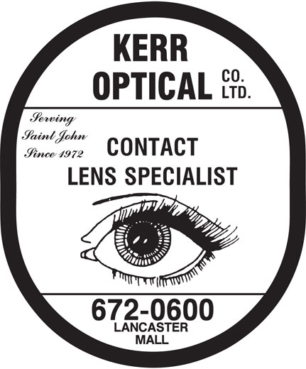Kerr Optical Co Ltd (506-672-0600) - Display Ad -