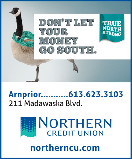 Northern Credit Union (613-623-3103) - Display Ad -