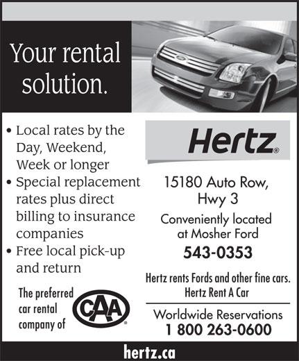 National Car Rental In Des Moines Ia: Hertz Rent A Car