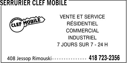 Ads Serrurier Clef Mobile