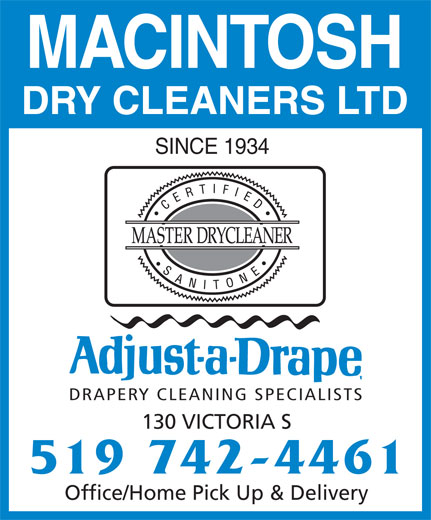 Ads MacIntosh Dry Cleaners Ltd