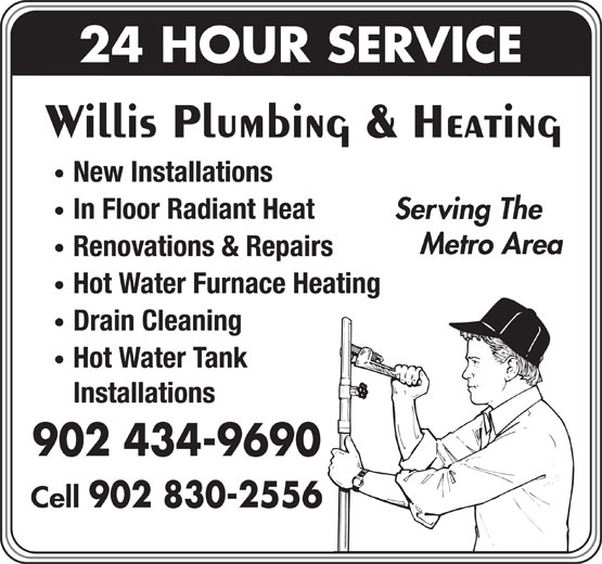 Ads Willis Plumbing & Heating