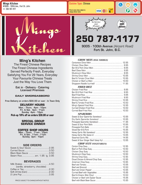 Ming S Chinese Kitchen