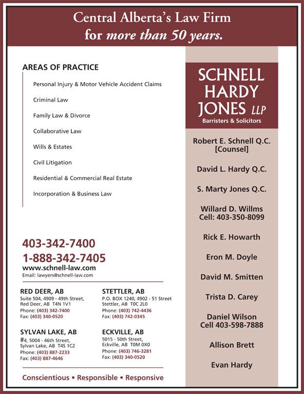 Ads Schnell Hardy Jones LLP