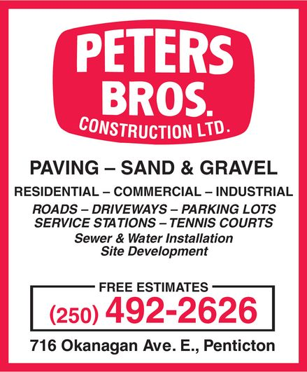 Ads Peter's Bros. Construction Ltd