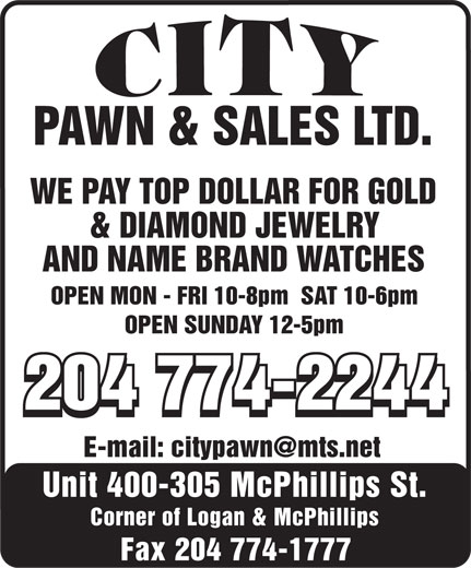 Ads City Pawn & Sales Ltd