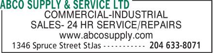 ABCO Supply & Service Ltd (204-633-8071) - Annonce illustrée======= - COMMERCIAL-INDUSTRIAL SALES- 24 HR SERVICE/REPAIRS www.abcosupply.com  COMMERCIAL-INDUSTRIAL SALES- 24 HR SERVICE/REPAIRS www.abcosupply.com  COMMERCIAL-INDUSTRIAL SALES- 24 HR SERVICE/REPAIRS www.abcosupply.com  COMMERCIAL-INDUSTRIAL SALES- 24 HR SERVICE/REPAIRS www.abcosupply.com  COMMERCIAL-INDUSTRIAL SALES- 24 HR SERVICE/REPAIRS www.abcosupply.com  COMMERCIAL-INDUSTRIAL SALES- 24 HR SERVICE/REPAIRS www.abcosupply.com  COMMERCIAL-INDUSTRIAL SALES- 24 HR SERVICE/REPAIRS www.abcosupply.com  COMMERCIAL-INDUSTRIAL SALES- 24 HR SERVICE/REPAIRS www.abcosupply.com