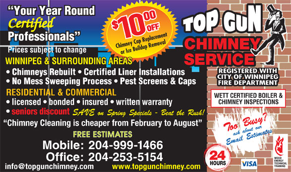 Mb Chimney Sweep Home Services