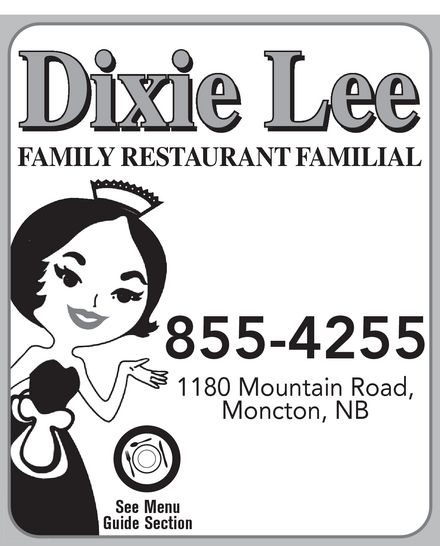 Dixie Lee Maritimes (506-855-4255) - Display Ad -
