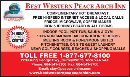 Best Western (1-877-677-8100) - Display Ad -