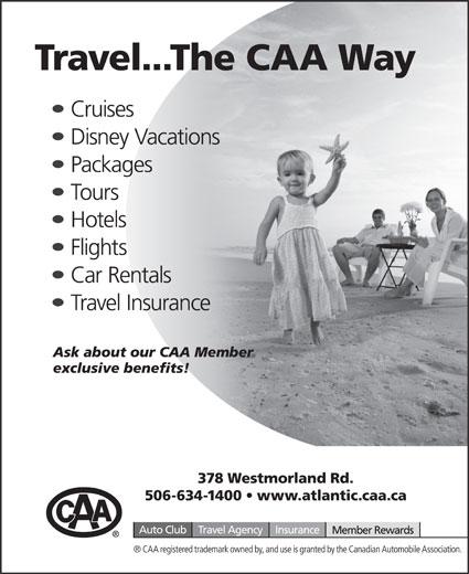 CAA (506-634-1400) - Display Ad -