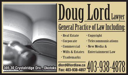 Lord Doug (403-938-4878) - Annonce illustrée======= -