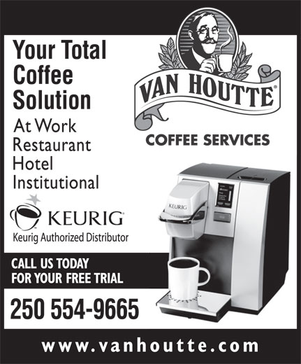Van Houtte Coffee Services (250-554-9665) - Display Ad -