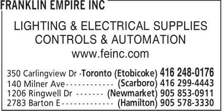 Franklin Empire Inc (416-248-0176) - Annonce illustrée======= - LIGHTING & ELECTRICAL SUPPLIES CONTROLS & AUTOMATION www.feinc.com  LIGHTING & ELECTRICAL SUPPLIES CONTROLS & AUTOMATION www.feinc.com  LIGHTING & ELECTRICAL SUPPLIES CONTROLS & AUTOMATION www.feinc.com  LIGHTING & ELECTRICAL SUPPLIES CONTROLS & AUTOMATION www.feinc.com  LIGHTING & ELECTRICAL SUPPLIES CONTROLS & AUTOMATION www.feinc.com  LIGHTING & ELECTRICAL SUPPLIES CONTROLS & AUTOMATION www.feinc.com  LIGHTING & ELECTRICAL SUPPLIES CONTROLS & AUTOMATION www.feinc.com  LIGHTING & ELECTRICAL SUPPLIES CONTROLS & AUTOMATION www.feinc.com  LIGHTING & ELECTRICAL SUPPLIES CONTROLS & AUTOMATION www.feinc.com  LIGHTING & ELECTRICAL SUPPLIES CONTROLS & AUTOMATION www.feinc.com  LIGHTING & ELECTRICAL SUPPLIES CONTROLS & AUTOMATION www.feinc.com  LIGHTING & ELECTRICAL SUPPLIES CONTROLS & AUTOMATION www.feinc.com  LIGHTING & ELECTRICAL SUPPLIES CONTROLS & AUTOMATION www.feinc.com  LIGHTING & ELECTRICAL SUPPLIES CONTROLS & AUTOMATION www.feinc.com  LIGHTING & ELECTRICAL SUPPLIES CONTROLS & AUTOMATION www.feinc.com  LIGHTING & ELECTRICAL SUPPLIES CONTROLS & AUTOMATION www.feinc.com  LIGHTING & ELECTRICAL SUPPLIES CONTROLS & AUTOMATION www.feinc.com  LIGHTING & ELECTRICAL SUPPLIES CONTROLS & AUTOMATION www.feinc.com