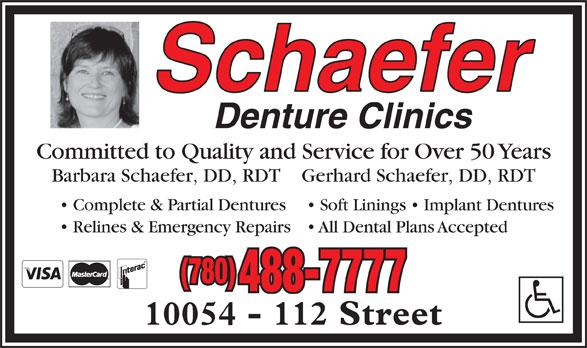 Ads Schaefer Denture Clinics