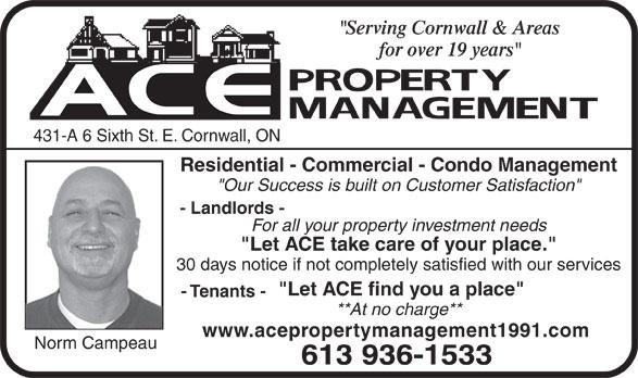 Property Management Ads Ace Property Management