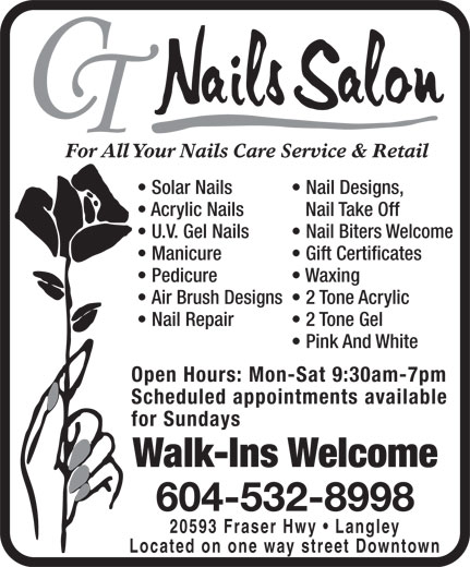Ads CT Nails Salon