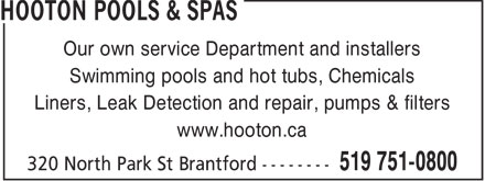 Ads Hooton Pools & Spas