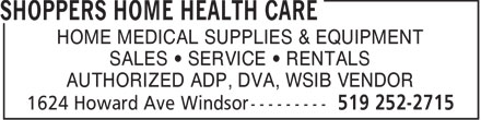 Ads Shoppers Home Health Care