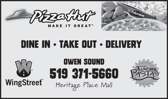 Pizza Hut (519-371-5660) - Display Ad -