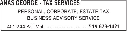 Ads Anas George - Tax Services