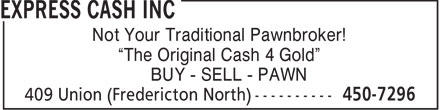 Ads Express Cash Inc