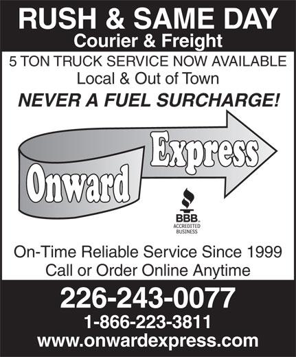 Ads Onward Express