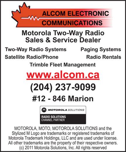 Ads Alcom Electronic Communications