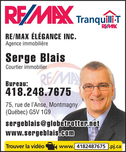 Blais serge courtier immobilier 75 rue de l 39 anse montmagny qc - Changer de courtier immobilier ...
