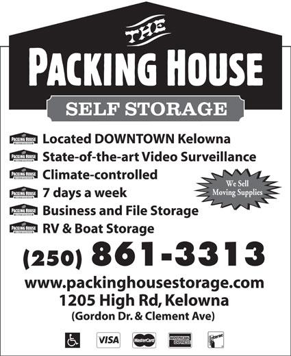 The Packing House Self Storage (250-861-3313) - Display Ad -