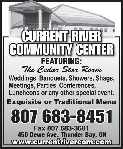 Ads Current River Community Centre