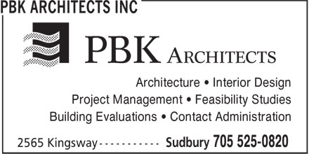 Architecture 49 Inc (705-525-0820) - Display Ad - Architecture • Interior Design Project Management • Feasibility Studies Building Evaluations • Contact Administration
