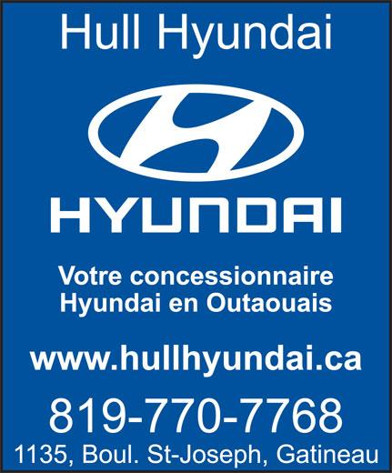 Hull Hyundai (819-770-7768) - Annonce illustrée======= -
