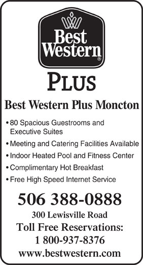 Best Western Plus (1-877-772-3297) - Display Ad -