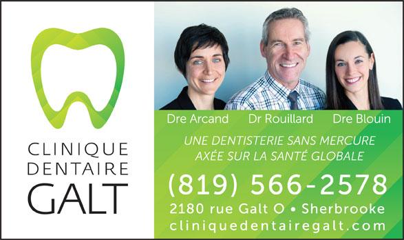 Clinique Dentaire Galt (819-566-2578) - Annonce illustrée======= -
