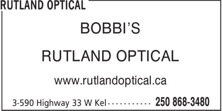 Ads Rutland Optical