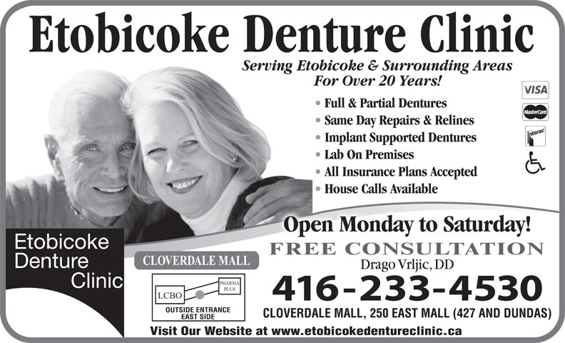 Ads Etobicoke Denture Clinic