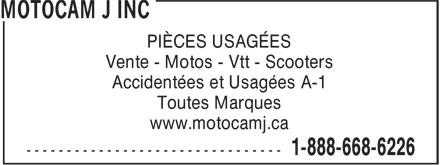 Motocam J Inc (1-888-235-6847) - Annonce illustrée======= - PIÈCES USAGÉES Vente - Motos - Vtt - Scooters Accidentées et Usagées A-1 Toutes Marques www.motocamj.ca  PIÈCES USAGÉES Vente - Motos - Vtt - Scooters Accidentées et Usagées A-1 Toutes Marques www.motocamj.ca  PIÈCES USAGÉES Vente - Motos - Vtt - Scooters Accidentées et Usagées A-1 Toutes Marques www.motocamj.ca  PIÈCES USAGÉES Vente - Motos - Vtt - Scooters Accidentées et Usagées A-1 Toutes Marques www.motocamj.ca  PIÈCES USAGÉES Vente - Motos - Vtt - Scooters Accidentées et Usagées A-1 Toutes Marques www.motocamj.ca  PIÈCES USAGÉES Vente - Motos - Vtt - Scooters Accidentées et Usagées A-1 Toutes Marques www.motocamj.ca  PIÈCES USAGÉES Vente - Motos - Vtt - Scooters Accidentées et Usagées A-1 Toutes Marques www.motocamj.ca  PIÈCES USAGÉES Vente - Motos - Vtt - Scooters Accidentées et Usagées A-1 Toutes Marques www.motocamj.ca