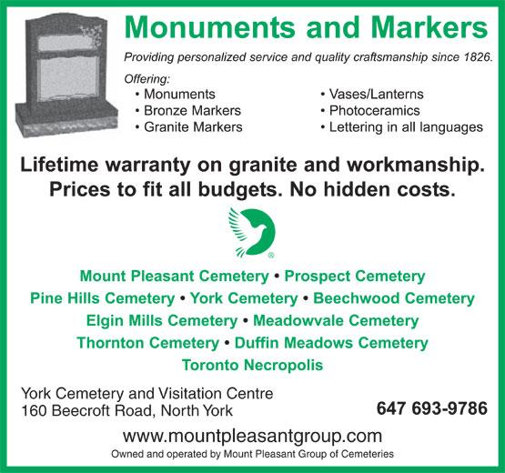 Ads York Cemetery & Visitation Centre