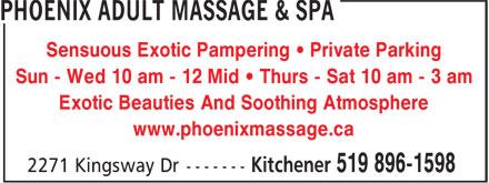 Ads Phoenix Adult Massage & Spa