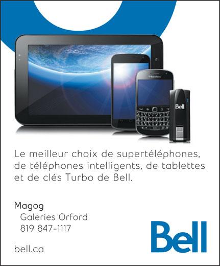 Bell (819-847-1117) - Annonce illustrée======= -