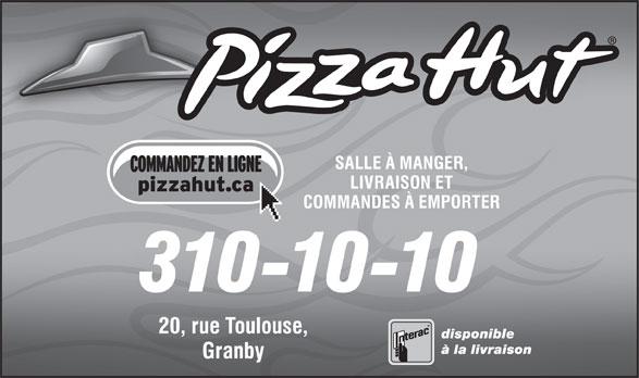 Pizza Hut (310-1010) - Annonce illustrée======= -
