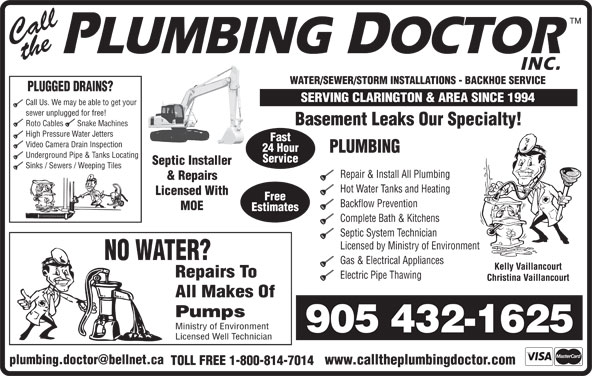 how to become a licensed septic installer in ontario