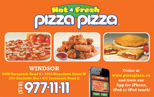 Pizza Pizza (519-977-1111) - Annonce illustrée======= -