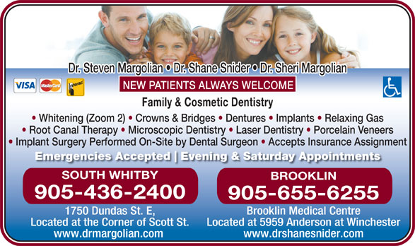 Margolian Steven Dr (905-436-2400) - Display Ad -