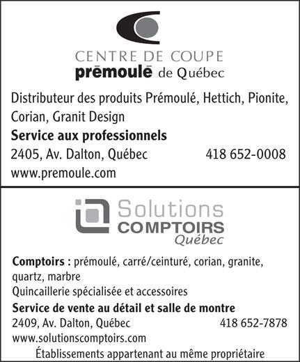 Ads Solution Comptoir Quebec