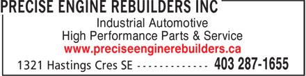 Ads Precise Engine Rebuilders Inc