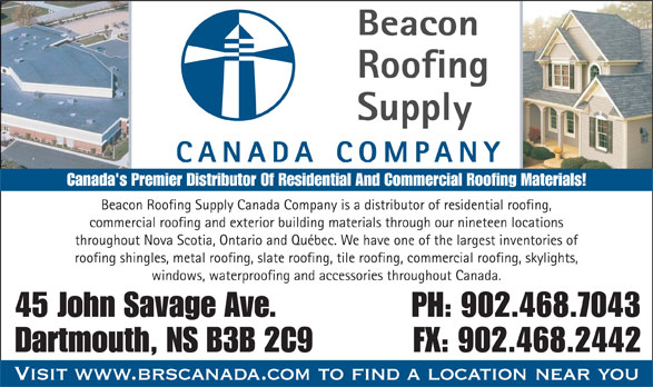 Beacon Roofing Supply 902 468 7043 Display Ad Beacon