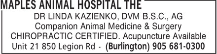 Ads Maples Animal Hospital, The